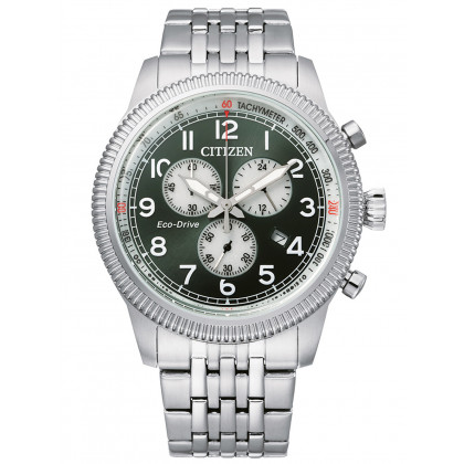 Citizen AT2460-89X Eco-Drive chrono 43mm 10ATM