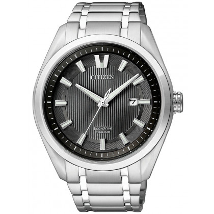 Citizen AW1240-57E Eco-Drive Super-Titanium Men's 42mm 10 ATM