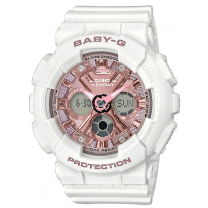 Casio BA-130-7A1ER Baby-G Ladies 43mm 10ATM