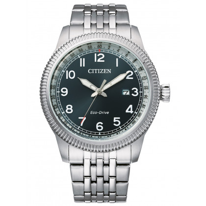 Citizen BM7480-81L Eco-Drive sports men`s 43mm 10ATM