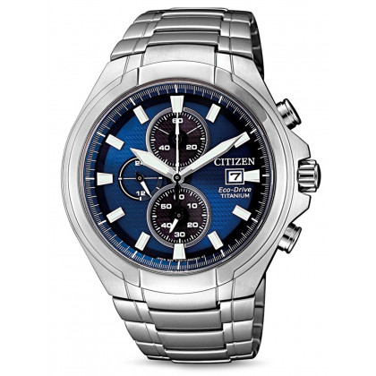 Citizen CA0700-86L Eco-Drive Super-Titanium Chronograph 43mm 10 ATM