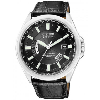 Citizen CB0010-02E Eco-Drive Men's Radio Controlled Watch Sapphire Glass 10 ATM 43mm
