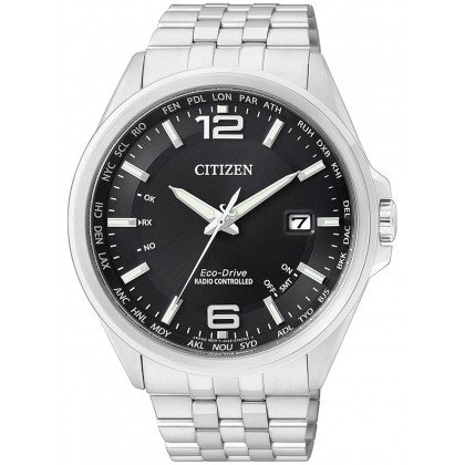 Citizen Eco-Drive Elegant CB0010-88E 4-Zones Radio Controlled Watch 43 mm 100M