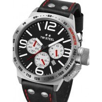 TW-Steel CS7 Canteen Leather Chronograph 45mm 10 ATM