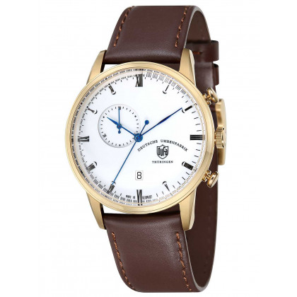 DuFa DF-9007-04 Weimar Men's Chronograph 41,5mm 3 ATM