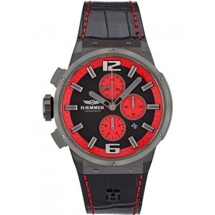 Haemmer EG-005 Fiery chrono men`s 48mm 10ATM