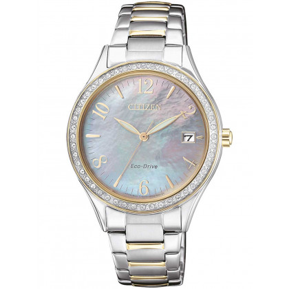 Citizen EO1184-81D Eco-Drive elegance Ladies 34mm 5 ATM