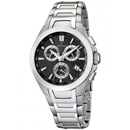 Festina Sport F16678/6 Chronograph Black 42 mm