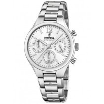 Festina F20391/1 Boyfriend Chronograph Ladies 36mm 5ATM