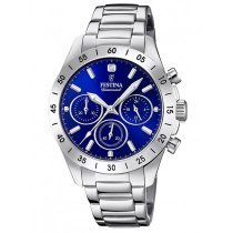 Festina F20397/2 Boyfriend Chronograph Ladies 39mm 10ATM