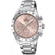 Festina F20397/3 boyfriend ladies-chronograph 39mm 10ATM