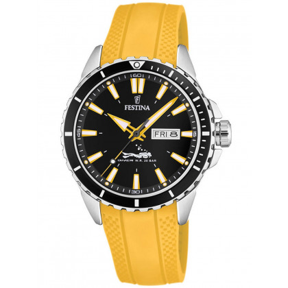 Festina F20378/4 Diver's Watch 45mm 20ATM
