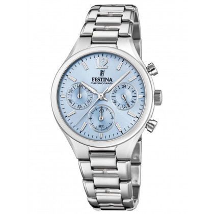 Festina F20391/3 Boyfriend Chronograph Ladies 36mm 5ATM