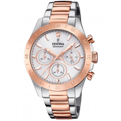 Festina F20398/1 Boyfriend Ladies Chronograph 39mm 10ATM
