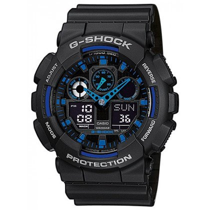 CASIO GA-100-1A2ER G-SHOCK 51mm 20 ATM