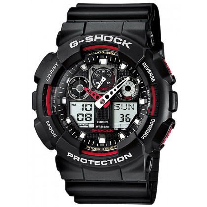 CASIO GA-100-1A4ER G-SHOCK 51mm 20 ATM