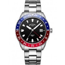 Rotary GB05108/30 Henley men`s watch GMT 42mm 10ATM