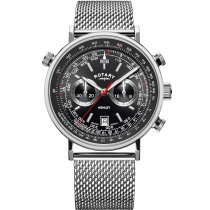 Rotary GB05235/04 Henley chronograph men`s 42mm 5ATM