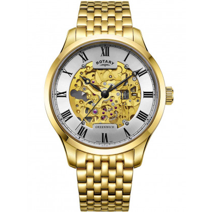Rotary GB02941/03 Greenwich automatic men`s 42mm 5ATM