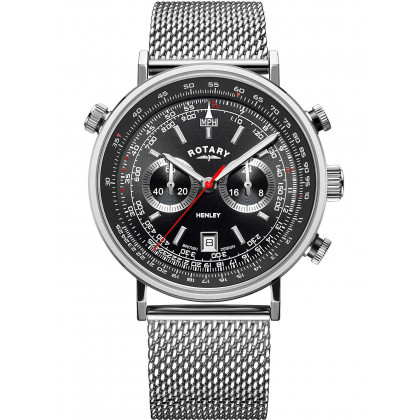 Rotary GS05235/04 Henley chronograph men`s 42mm 5ATM