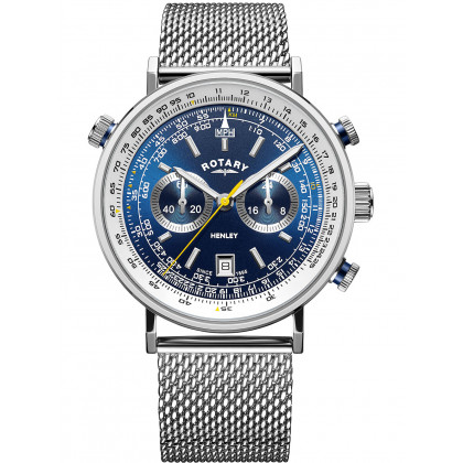 Rotary GB05235/05 Henley chronograph 42mm 5ATM