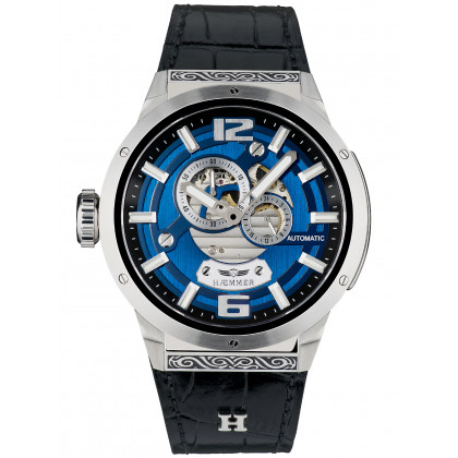Haemmer GG-100 Evolution Jet Black men`s 50mm 10ATM