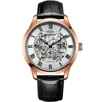 Rotary GS02942/01 Greenwich automatic men`s 42mm 5ATM