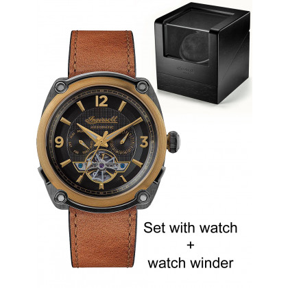 Ingersoll I01104 The Michigan limited edition 45mm 5ATM - set w. watchwinder