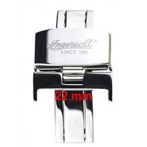 Ingersoll deployment clasp << 22 mm >> silver