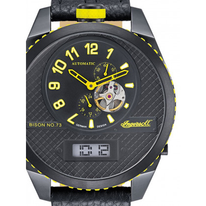 Ingersoll IN1716BBKY Automatic Men's 55mm 10 ATM