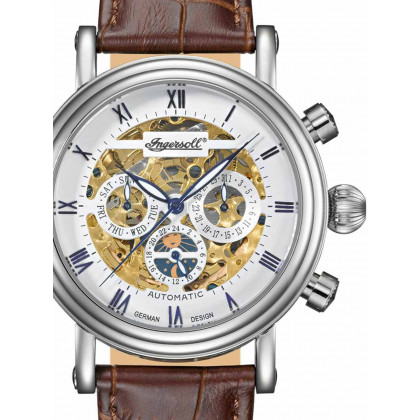 Ingersoll IN2716WH Gandhi III Automatic 42mm 3 ATM