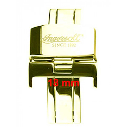 Ingersoll deployment clasp > gold color