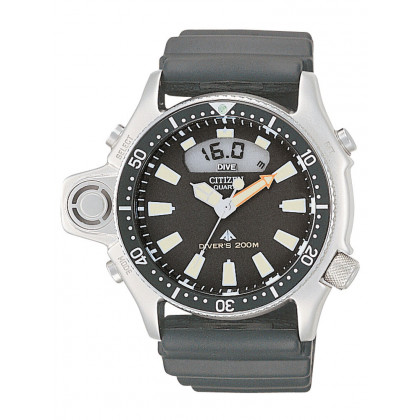 Citizen JP2000-08E Promaster-Marine Diver Watch + depth gauge