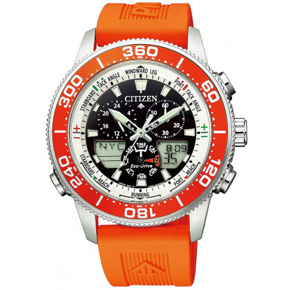 Citizen Eco-Drive JR4061-18E Promaster Marine Yacht 44mm 20ATM