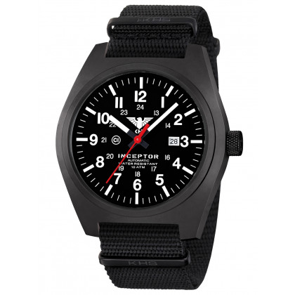KHS Tactical Watch KHS.INCBSA.NB Inceptor Automatic 46mm 10ATM