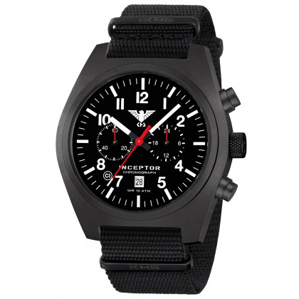 KHS Tactical Watch KHS.INCBSC.NB Inceptor Chronograph 46mm 10ATM