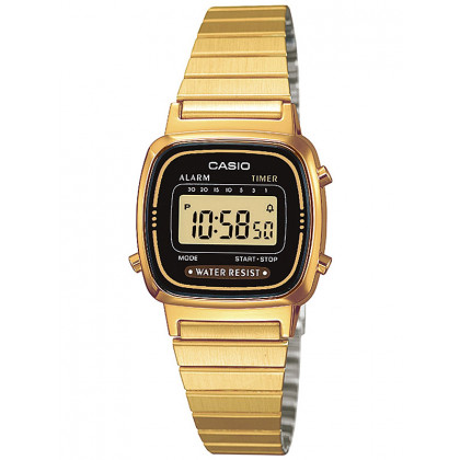 CASIO LA670WEGA-1EF Collection Ladies 24mm 3 ATM
