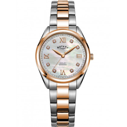 Rotary LB05112/41/D Henley ladies watch 30mm 5ATM