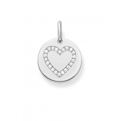 Thomas Sabo LBPE0005-051-14 Love Bridge pendant heart coin