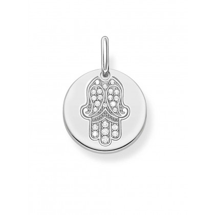 Thomas Sabo LBPE0010-051-14 Love Bridge pendant Fatimas hand coin