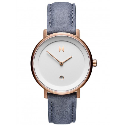 MVMT D-MF02-WBLU Signature II Earl Grey Ladies 34mm 3ATM