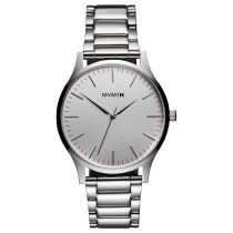 MVMT MT01-S 40 Series Silver Men's 40mm 3ATM