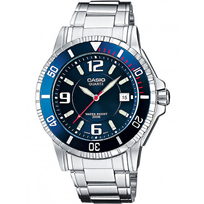 Casio MTD-1053D-2AVES Collection men`s 43mm 20ATM