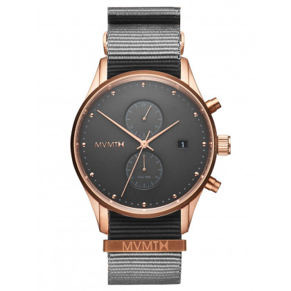 MVMT MV01-RGGR2 Voyager graphite men´s 42mm 10ATM