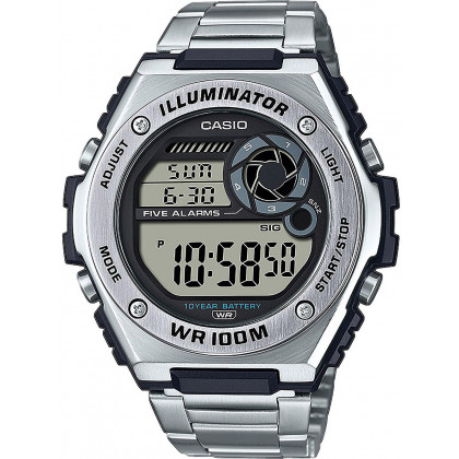Casio MWD-100HD-1AVEF Collection men`s 50mm 10ATM