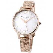 Olivia Burton OB16DE10 Demi White Dial ladies watch 34 mm