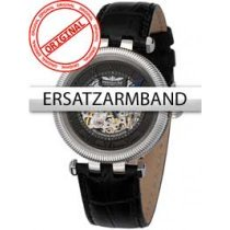 Perigaum Replacement Strap in Black for Millennium Automatic P-0604-SS