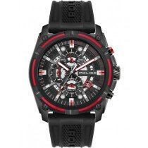 Police PEWJQ2003541 Leptis Dual Time 46mm 5ATM