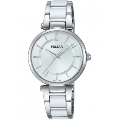Pulsar PH8191X1 Ladies Ceramic Watch 30mm 3 ATM