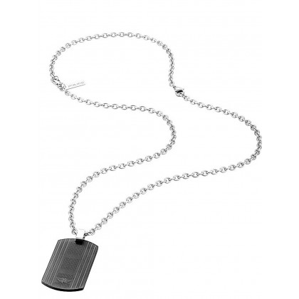 Police PJ26317PSU.02 necklace Fornebu 70cm, adjustable